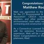 Image for the Tweet beginning: Join us in congratulating Matt