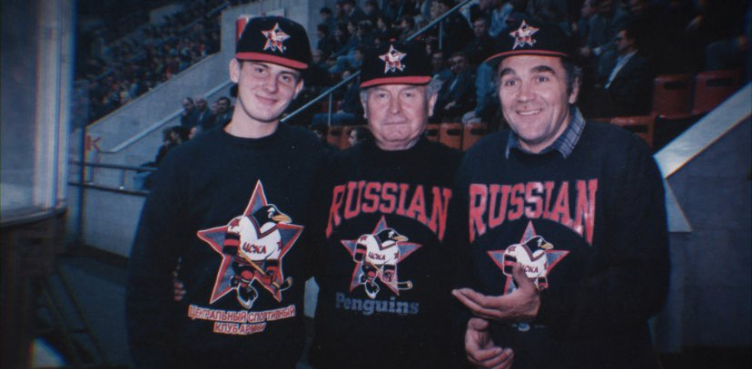 Check out the #RedPenguins trailer, a crazy documentary about the joint-venture between the Pittsburgh Penguins and the Red Army ice hockey team in Moscow shortly after the collapse of the Soviet Union - https://youtu.be/W90-iWQkExE pic.twitter.com/EEY3ZNvTpY