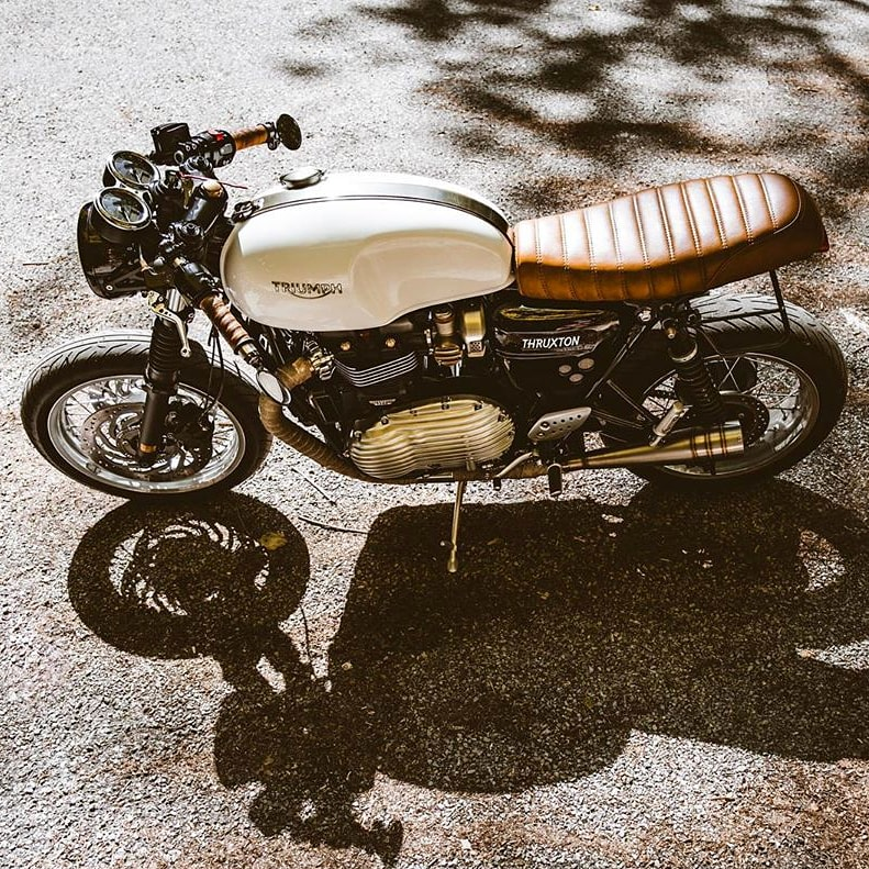 Go like stink and look good doing it. Is the Café Racer the most exciting style of bikes out there for you?  @OfficialTriumph #triumphmotorcycles #triumph #triumphthruxton #thruxton #caferacer #caferacers #caferacerporn #caferacerclub #vintagemotorcycle #tripmachineco https://t.co/OUD7PXkmzE