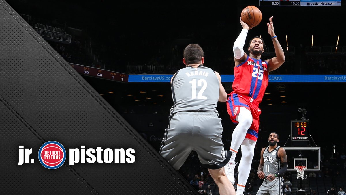 Its a D-Rose move you know and love. Learn how to add the floater to your game in this edition of Jr. Pistons.