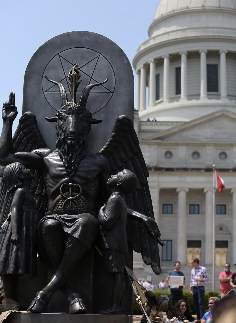 @JackPosobiec I'm still wondering when they're going to tear down the Moloch statue.. oh wait, that's right.. that's who they worship. https://t.co/cnFo81wLof