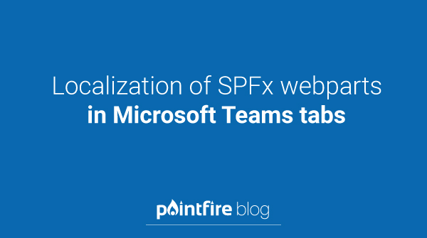 Localization of SPFx webparts in Microsoft Teams tabs  http://blog.icefire.ca/post/localization-of-spfx-webparts-in-microsoft-teams-tabs …  #TipTuesdaypic.twitter.com/kIbGL8WMqV