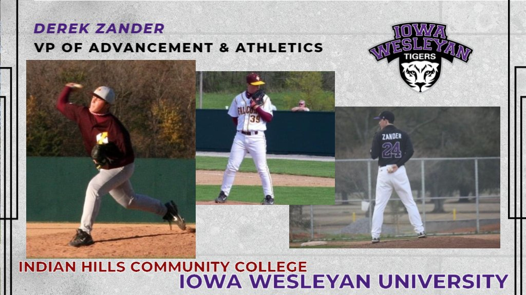 Iowa Wesleyan Tigers On Twitter Tiger Nation Check Out Our Vice President Of Advancement And Athletics Derek Zander In This Week S Throwbackthursday Post Did You Know That He Was A Pitcher For