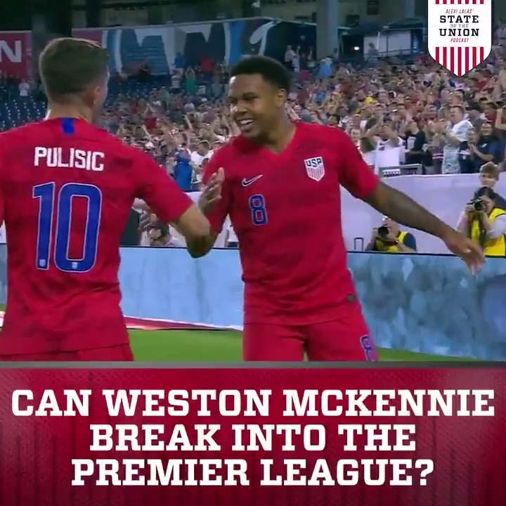 Which USMNT player will be the next to move to the Premier League? @AlexiLalas makes the case for Weston McKennie ⬇️