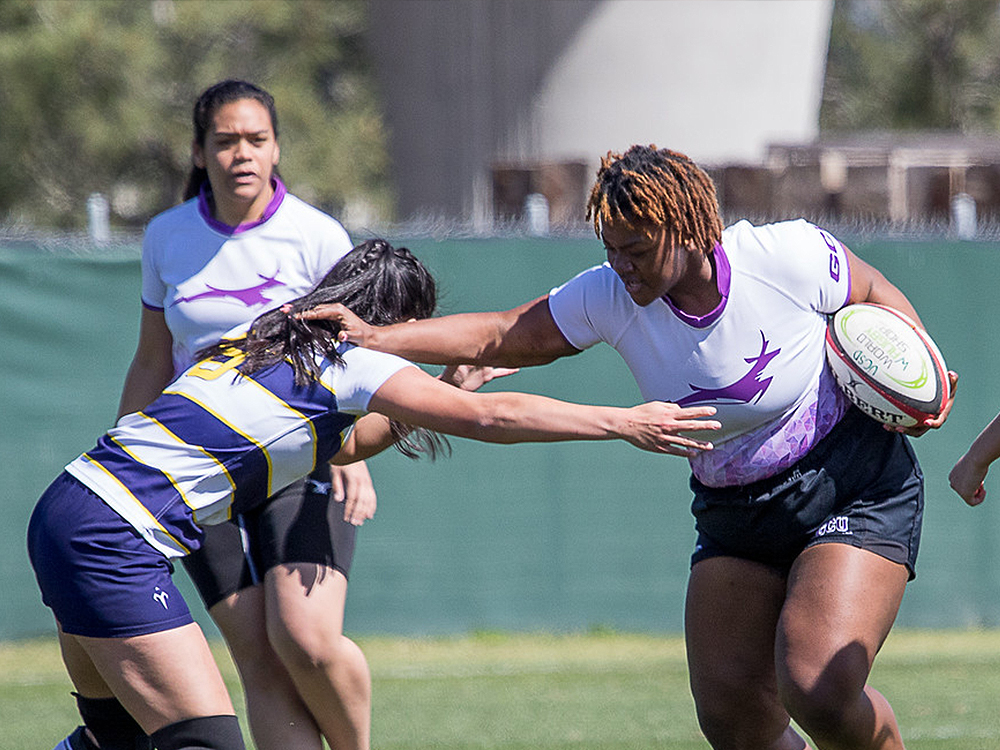 """""""Culture. It was the biggest 'win' of our season this year.""""  The words of @GCUWomensRugby HC Lindsey Mahoney as she applauded her players for a big turnaround for the team this year. Read more: https://t.co/u7G9dlvoZ7 #LivetheLopeLife #LopesRising https://t.co/hAAIivO3KD"""
