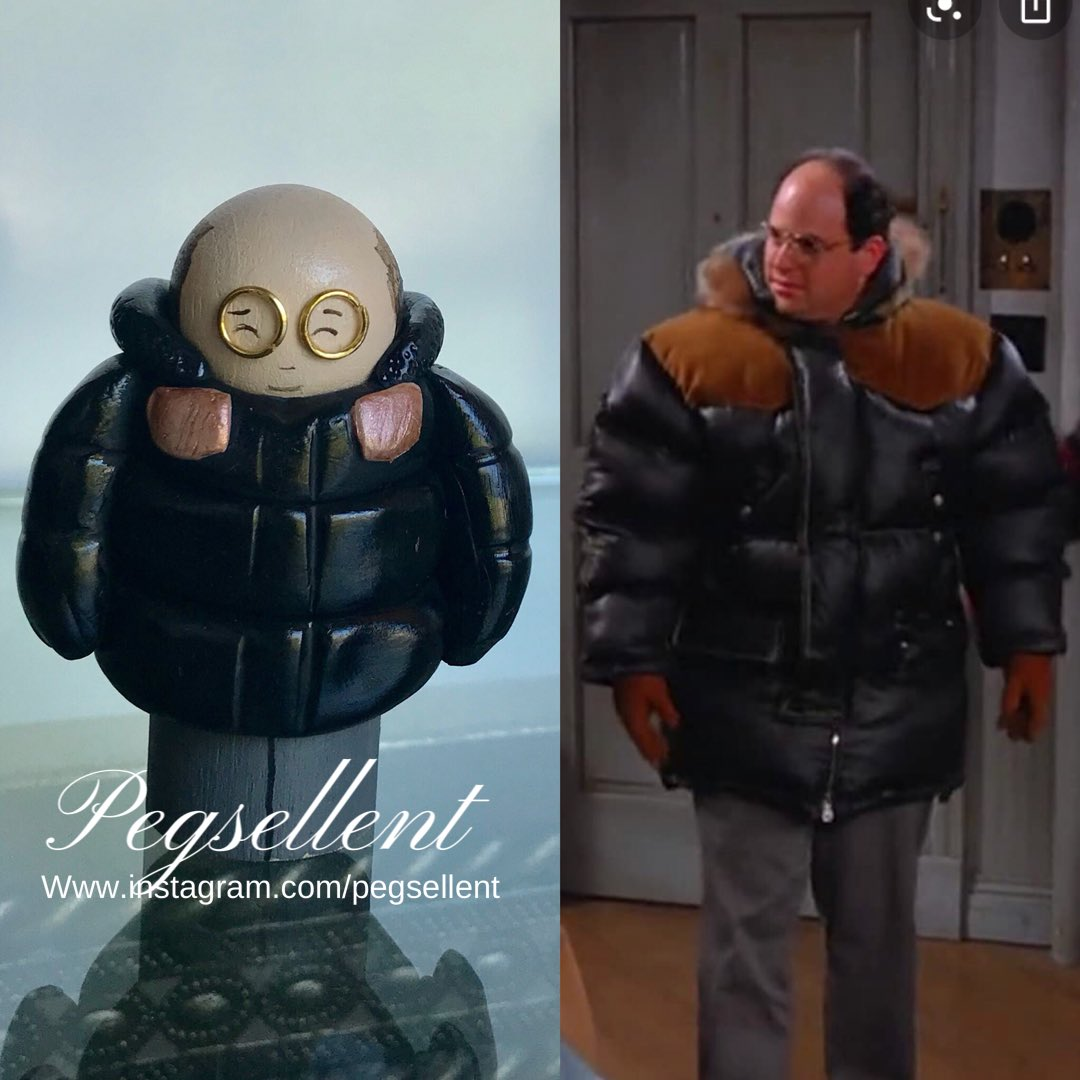 """It's Gore-tex""  One of my absolute favourite characters of all time- hilarious portrayal by #jasonalexander #georgecostanza #costanza #seinfeld #goretex #winter #Funniestmemes #FunniestTweets #best #artists #ArtistOnTwitter #etsystore"