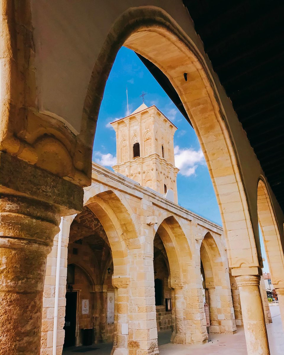 The outstanding Saint Lazarus church in #Larnaka is a fine example of Byzantine architecture in #Cyprus. Tradition has it, that after his resurrection, Saint Lazarous fled to Cyprus where he lived for 30 more years. Read about our historic churches here: https://t.co/i6Ho8JGFOj https://t.co/NJorZHFkhh