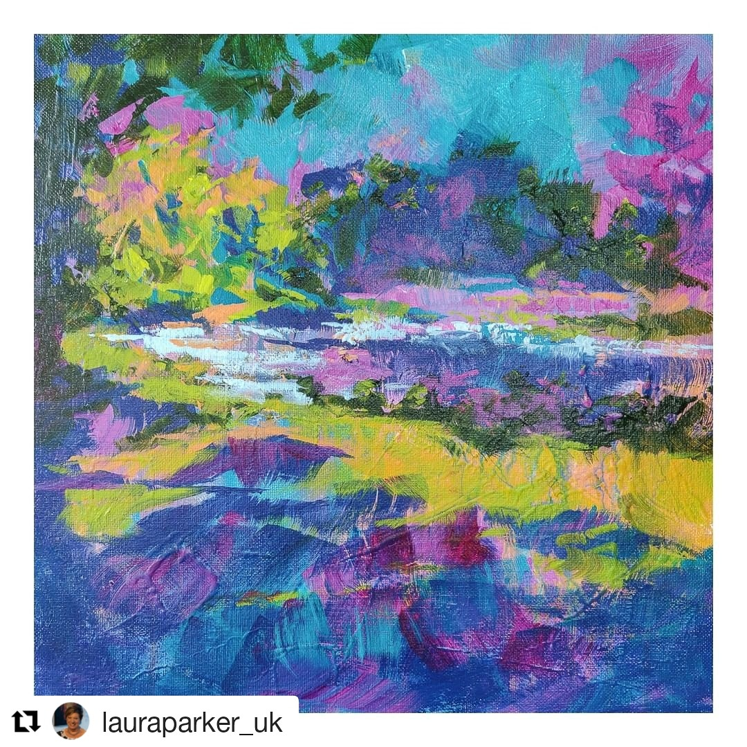 Our next featured artist is @lauraparker_uk with 'Hanka's View', part of our online Summer Exhibition all this month... Check our website for more bright and beautiful pieces at affordable prices from 40+ local artists! #richmondartsociety #originalart #artlovers #affordableartpic.twitter.com/G8i4Xi26oL