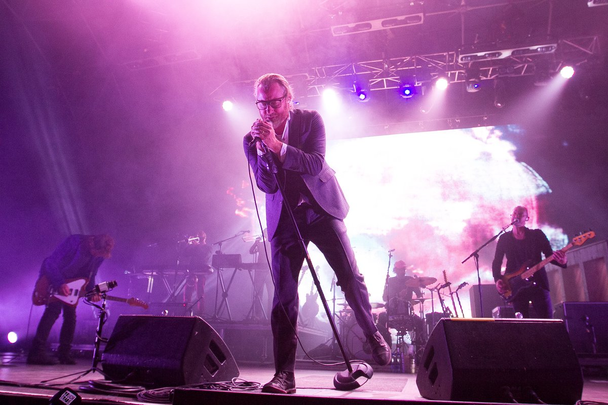 #TBT - @TheNational performing @LATMofficial, Cork 2014 https://t.co/yDYrS2NvoV
