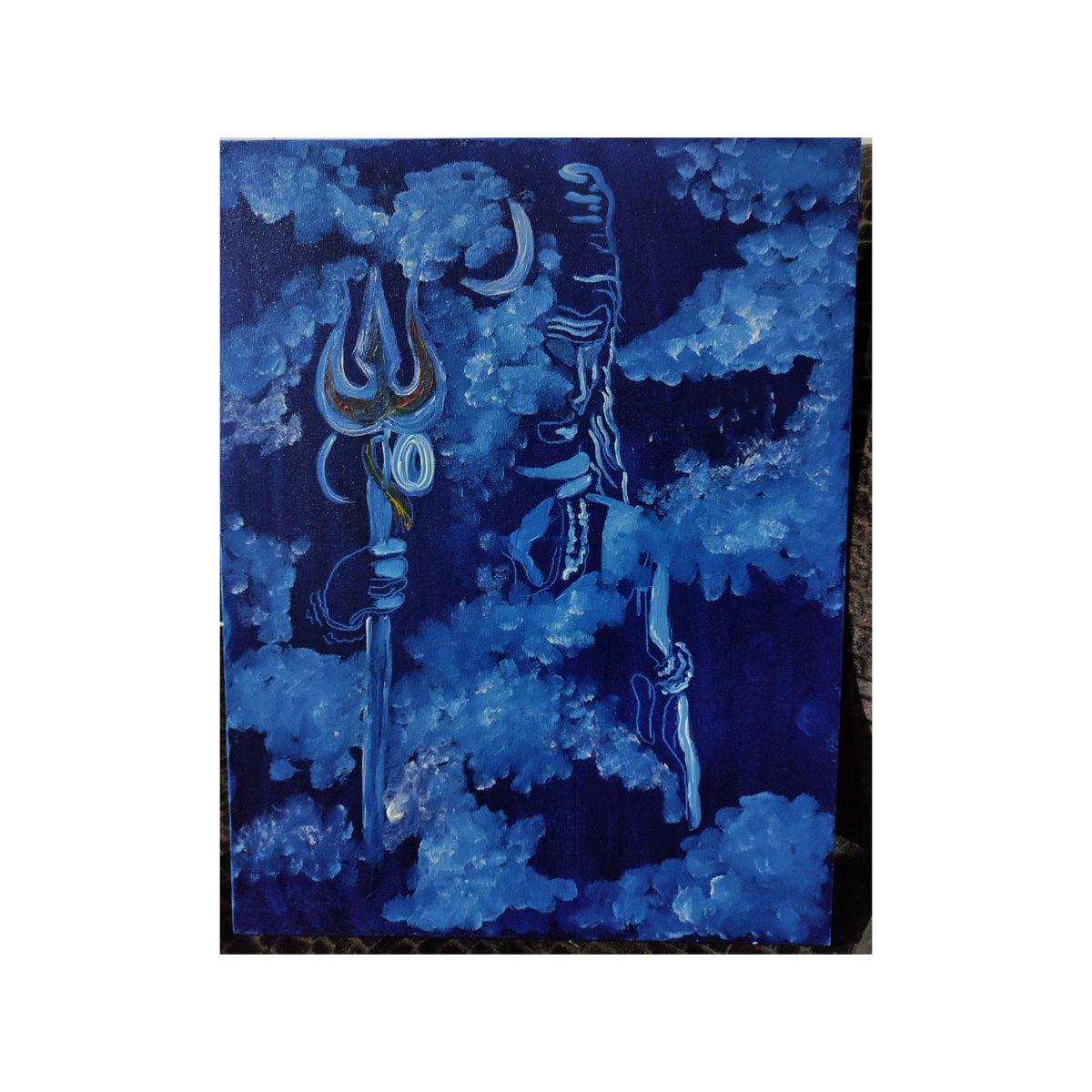 Come what may, you must never tolerate evil. ~Lord Shiva~  #writerslift  #paintings #art #ArtLovers #PaintLuv #oilpastels #poetrycommunitypic.twitter.com/JvqcGfGvlz