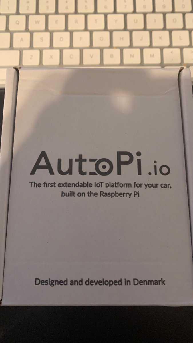 Got the new @autopi_io in the mail today. Looking forward to firing it up. :) https://t.co/zTtZTjCMpF