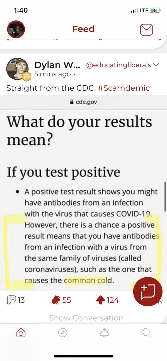 Nope. Directly from the cdc website. Could have simply been a cold: pic.twitter.com/nzQhsDFjxY