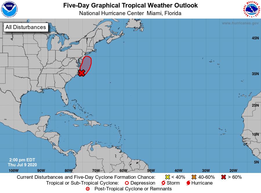 Tropical Weather Outlook @NWS @NWSNHC Miami FL 200 PM EDT Thu Jul 9 2020 https://t.co/CKebihy5y6 https://t.co/EtRoEzLwfa