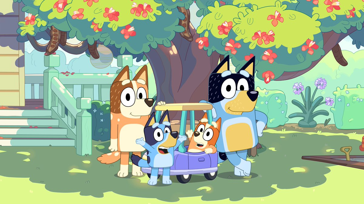 #ICYMI: Season two of #Bluey premieres July 10 on #DisneyChannel and in #DisneyNOW.
