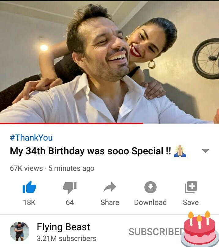 Very happy birthday Gaurav @flyingbeast320  from team #CommonMan  Have a succesful year ahead and keep blogging  We all love you   Follow back & keep in touch with us we will glad to get return gift from u for wish  #HappyBirthdayGaurav #RashbhariKePapa #flyingbeast320pic.twitter.com/EbfWPUNfPr