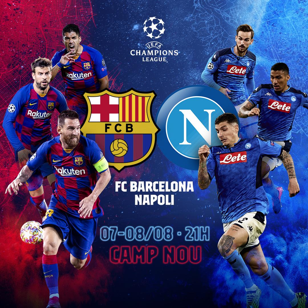 ❗❗❗ @ChampionsLeague Son 16 turu rövanş maçı Camp Nou'da seyircisiz oynanacak. https://t.co/kyadavfAGe