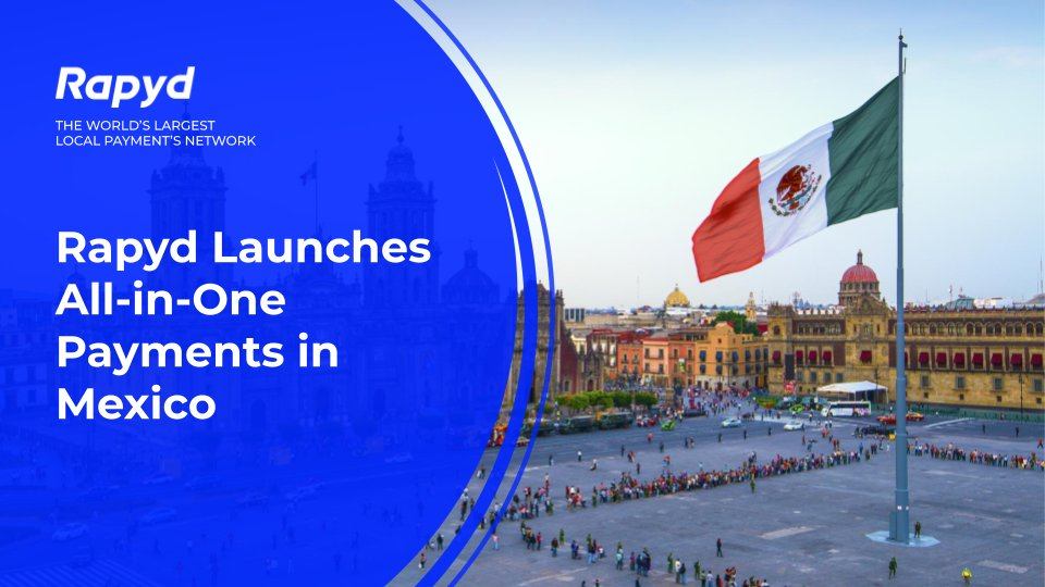 Rapyd is excited to announce the launch of our All-In-One Integrated Payment Solution for Mexico 🇲🇽. Now a single integration is all it takes to offer all of Mexico's favorite payment and payout methods. Learn more: go.rapyd.net/mexico #payments #Mexico