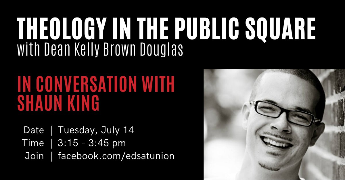 On Tuesday (7/14) - Dean Kelly Brown Douglass will be in conversation with Shaun King on calls to remove images of Jesus as white. RSVP https://t.co/GxY47dBFiW https://t.co/tq3Z4f4kss