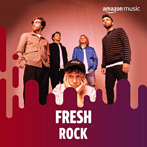 :: Very cool of @AmazonMusicUK to put us on the front of Fresh Rock. Cheers guys :: https://t.co/59DJ7WrU31