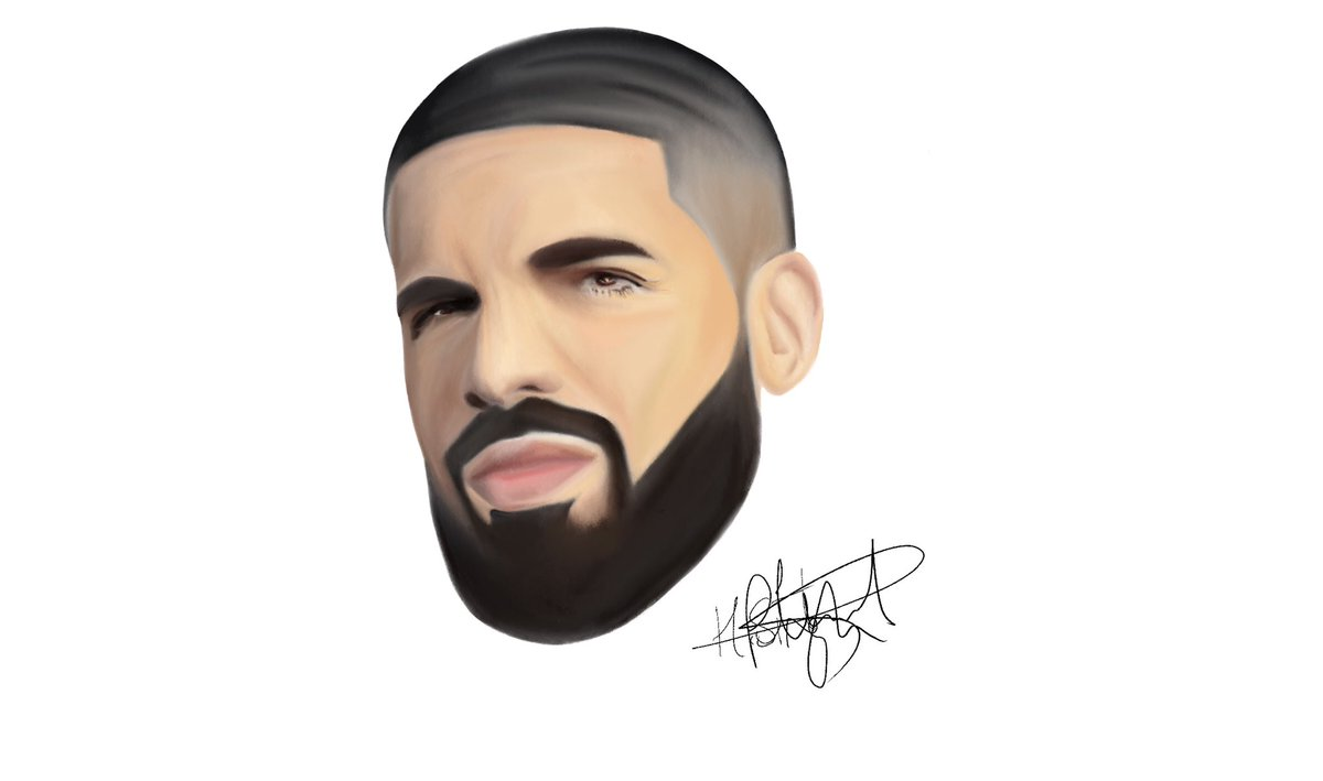 A drawing of Drake, by me.