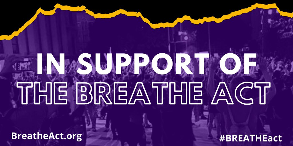 For decades, the federal government has funded mass criminalization while underfunding the social services that actually keep people safe. We are in solidarity with the Electoral Justice Project of @Mvmnt4BlkLives to demand a new approach. https://t.co/B3neyDZuQa #BREATHEAct https://t.co/qoTEEZ1NPk