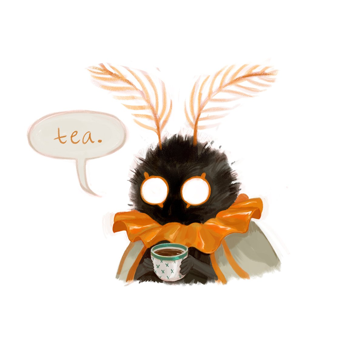 RT @meggellison: Needed a good story to distract from ~things~ So I present to you: Mothman's little brother https://t.co/nfdSNoPdb4