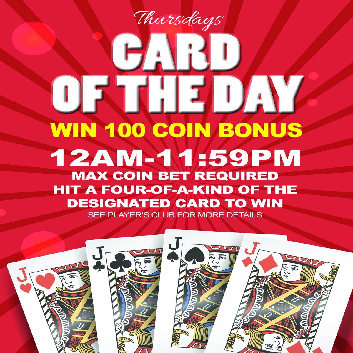 Hit the designated card of the day & win!   #RailroadPass #Railroadpasscasino #Casino #Gaming #bouldercity #bouldercitynv #nevada #travelnevada #vegas #henderson #hendersonnv #LasVegas #gambling #CasinoNight #CasinoRoyale #CasinoLifepic.twitter.com/AGn5wbYBUu