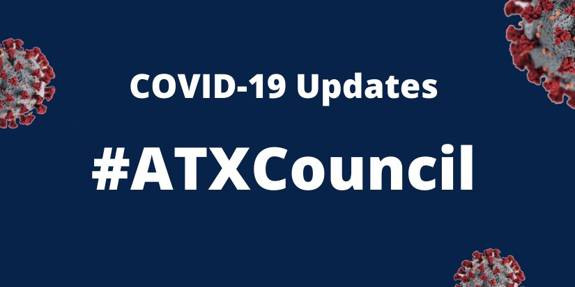 During today's Special Called Council Meeting on #COVID19…   #ATXCouncil approved an ordinance declaring a site that fails to meet certain standards designed to prevent transmission of #COVID19 between humans as a nuisance, authorizing civil enforcement, & declaring an emergency https://t.co/7ZgNCTGwxF