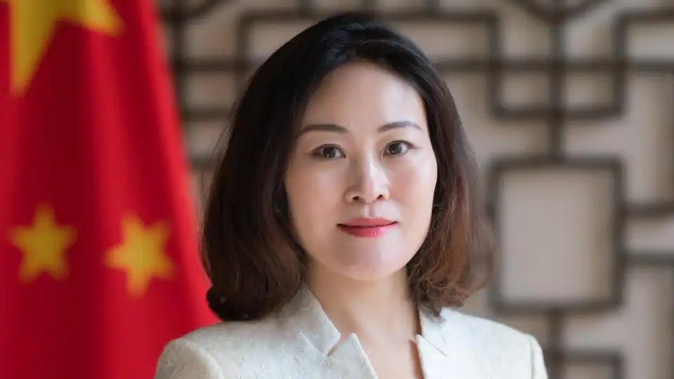Meet the new Viceroy of Nepal -Her highness- the Chinese ambassador Yanqi. She has just decreed that all Indian News channels will be banned in Nepal . Nepal is Fast going the way of Tibet. Time for the people of Nepal to wake up and get rid of this Chausescu of Nepal- shiri Oli. https://t.co/uMySYEhpXw