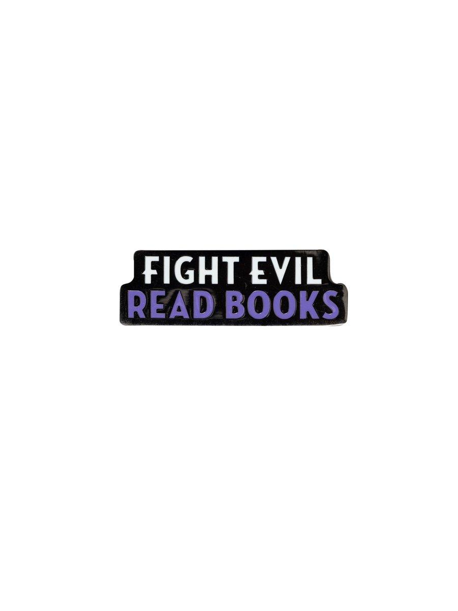 FIGHT EVIL, READ BOOKS @PantheonBooks bit.ly/2VXv3QX