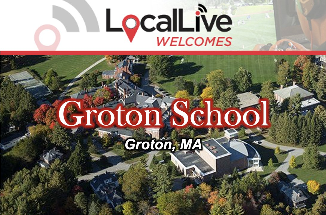 We are very excited to welcome the Groton School to LocalLive. We can't wait to start broadcasting games and events for your community. @GrotonSchool @GrotonZebras #groton #grotonschool #Massachusetts #videostreaming #highschoolsports #highschool #education https://t.co/paHgu1sb6O