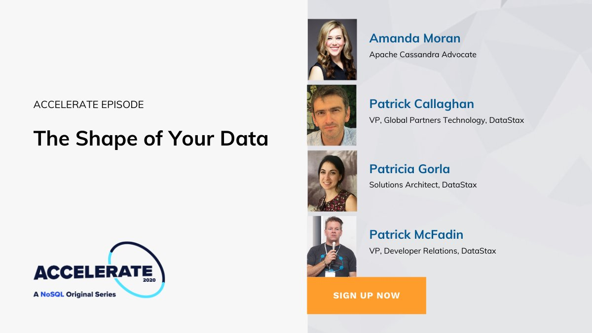What's the secret to building successful, cloud-native apps? Travel through the past, present, and future of #datamodeling in Accelerate's 'The Shape of Your Data' + hear from special guest @AmandaK_Data! Sign up for the release on July 21: https://t.co/32nNiVFqwZ https://t.co/Y55b4gFRHe