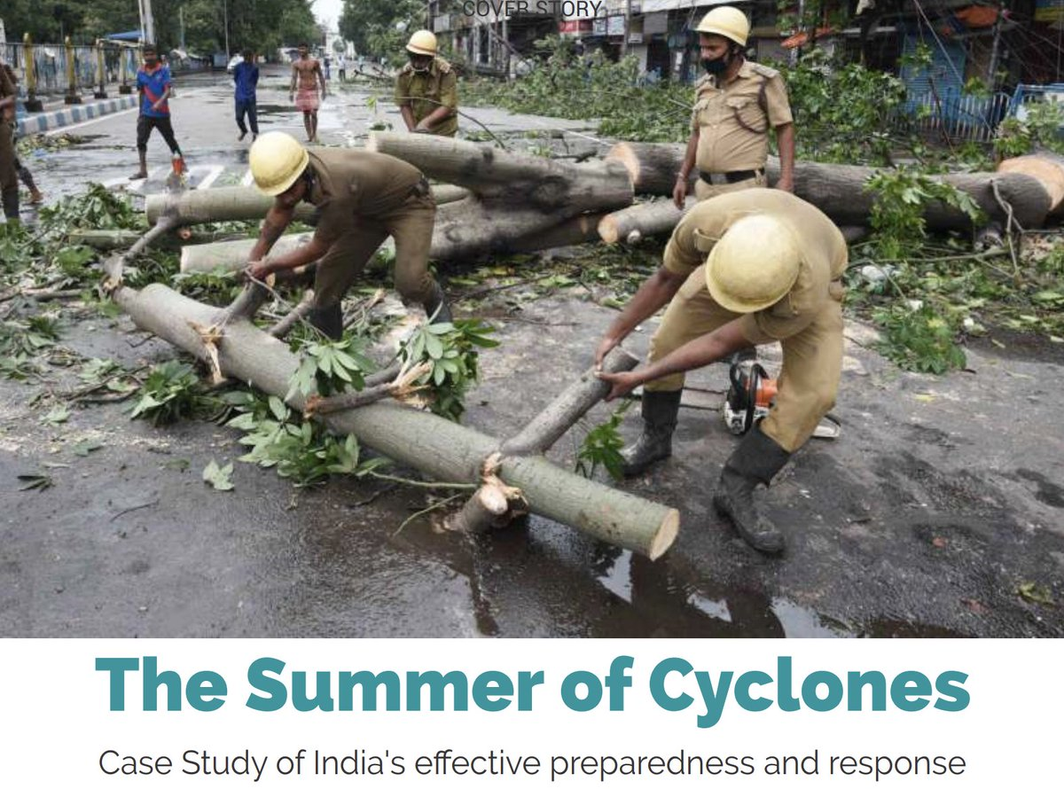 The Summer Of #Cyclones :: All you need to know about India's effective Preparedness & Response to #CycloneAmphan and #CycloneNisarga.  Read the #CaseStudy on NDMA's June edition of Aapda Samvaad :: https://ndma.gov.in/images/pdf/Aapda_Samvaad_Issue_june_2020.pdf…pic.twitter.com/974fZqMOso
