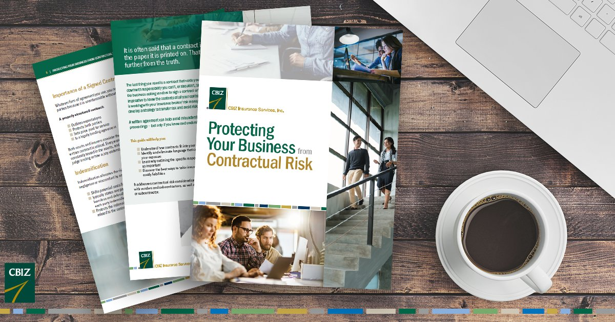 It is often said that a contract isn't worth the paper it is printed on. That could not be further from the truth. Download our free contractual risk guide to find out why: https://t.co/jUOhXfpw88 https://t.co/HOHIVYvbdZ