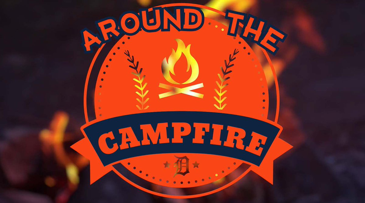 After another day of @Tigers Summer Camp at Comerica Park, our @BrookeFletcher and @iamtrevort and https://t.co/huTL0qCnqi writer @beckjason tell the stories you need to know 'Around the Campfire' at 7:30 p.m. on Facebook Live. https://t.co/S8YB09uIZu https://t.co/4bnkkhdbmI