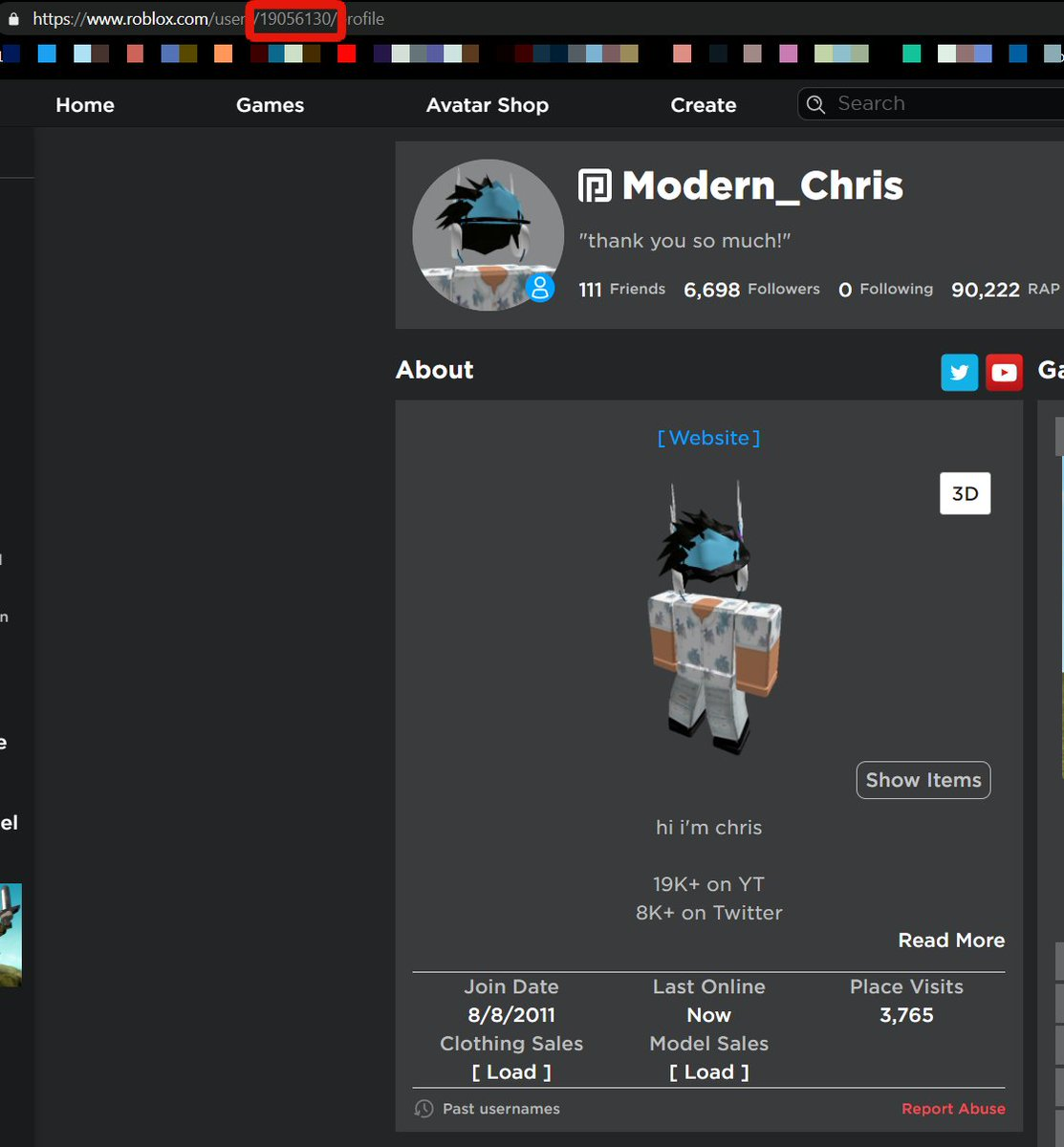 How To Get Your User Id In Roblox لم يسبق له مثيل الصور Tier3 Xyz
