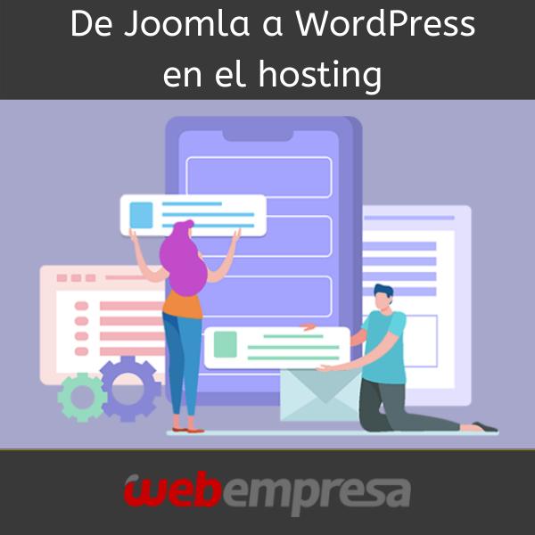 ¿Cansado de Joomla? ¿Quieres cambiar tu web a #WordPress?  Hazlo desde tu cPanel para sustituir un CMS por otro, guardando una copia de seguridady pasando a trabajar únicamente con WordPress. ¡Haz clic para ver toda la info! http://ow.ly/zNQV30mt862 #webempresapic.twitter.com/skNEYAMokp