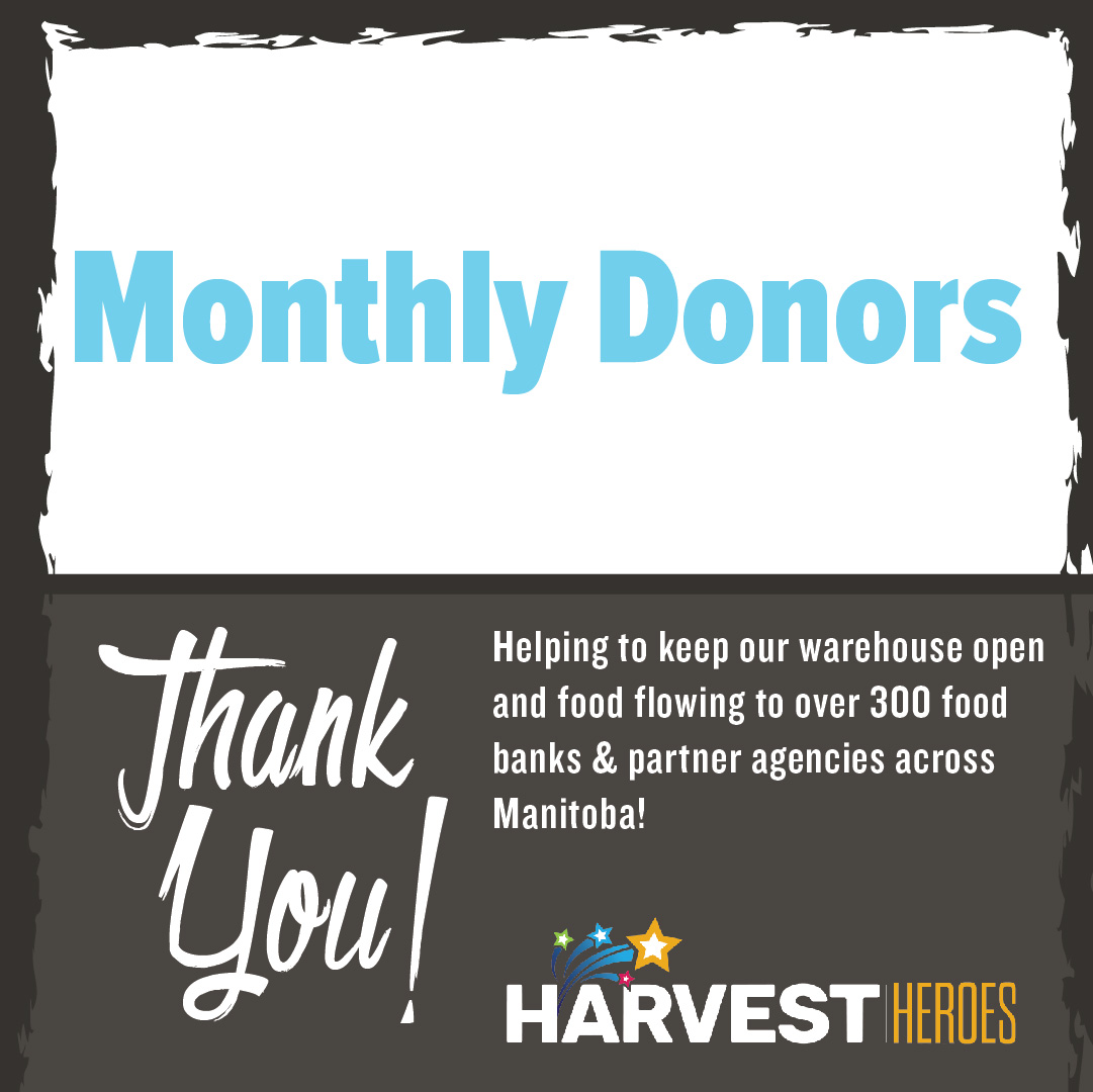 Thank you to our monthly donors, who consistently help us keep our warehouse open and food flowing!  #ThankfulThursday https://t.co/9q7VnmRiy5