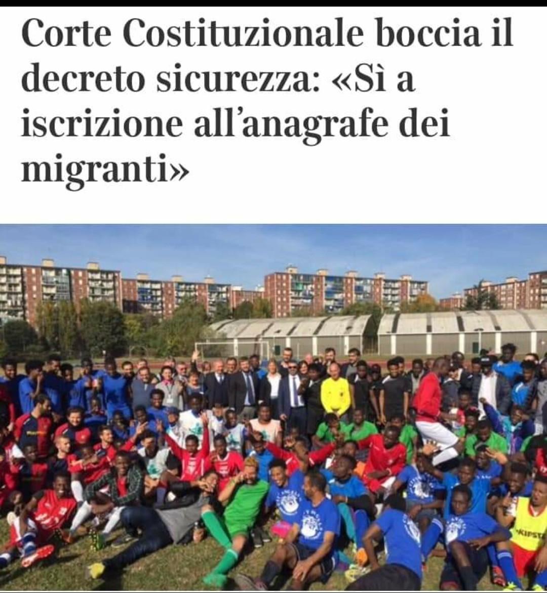 #decretosicurezza