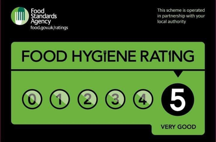 Happy to announce that we received a 5 rating from today's Inspection from the local environmental health officer #pullmanjacks #scoresonthedoors #foodhygiene #foodhygienerating5 #foodstandardsagency #pies #liverpoolfoodpic.twitter.com/2ip4BIOvmi