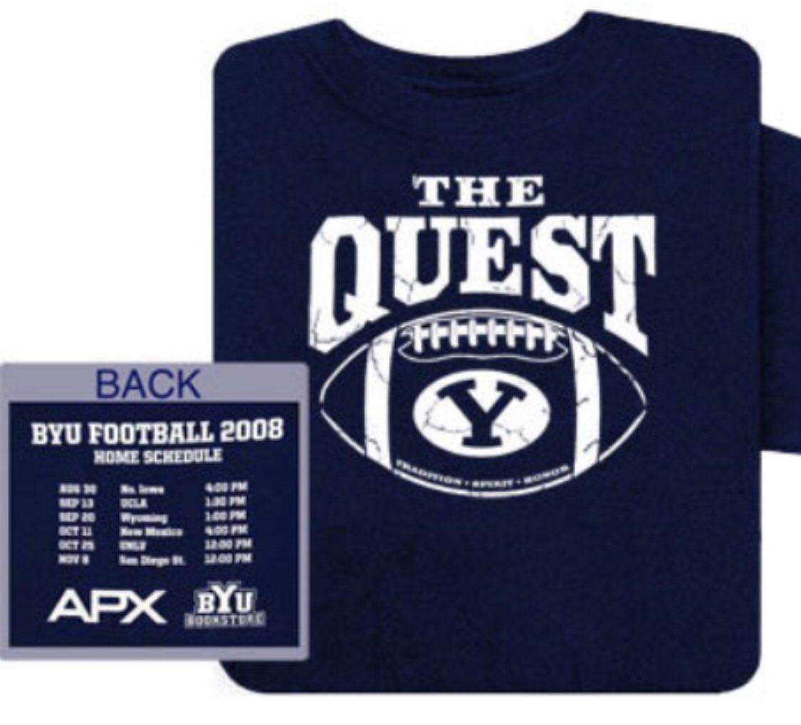 BYU Football - The Quest shirt