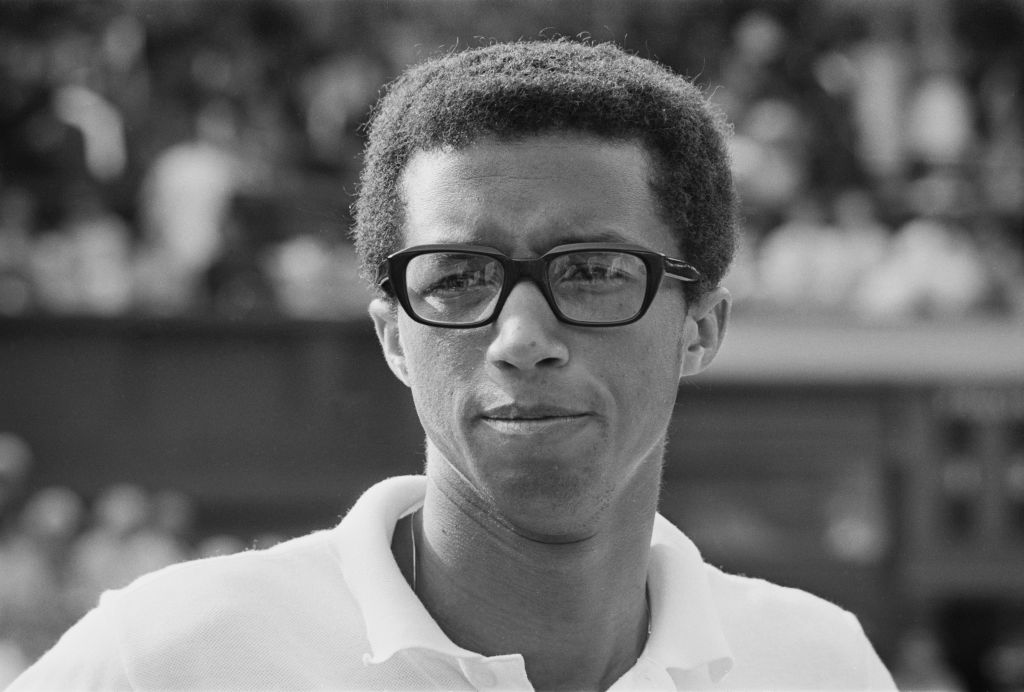 Happy Birthday, Arthur Ashe.  The tennis legend, activist and humanitarian would have turned 77 today. https://t.co/1BgyM5fTXJ