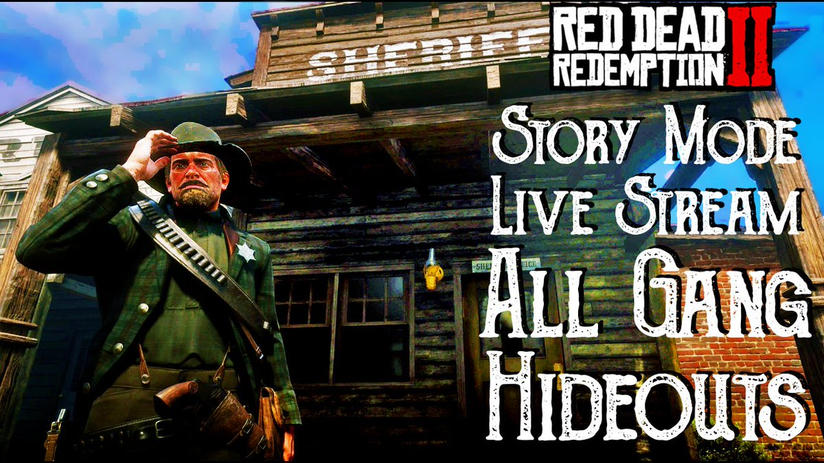 Thanks to all the epic legends that came by for my #RDR2 story live stream today. God I love that game, it warms my soul every time I play it.   #RedDeadRedemption2 #RockstarGames #Rockstar  https://www.youtube.com/watch?v=oG0zcjYa08k …pic.twitter.com/OjgXaNuD3z