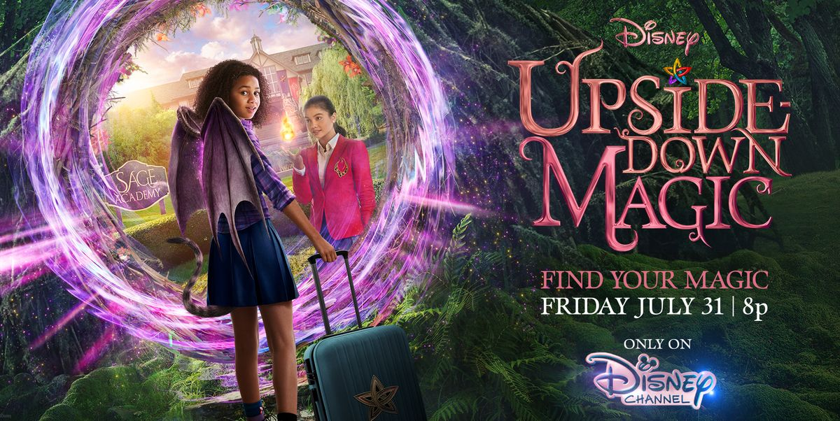 Exclusive: Meet the Cast and Characters of Disney's 'Upside-Down Magic' svtn.co/Ame2JrE