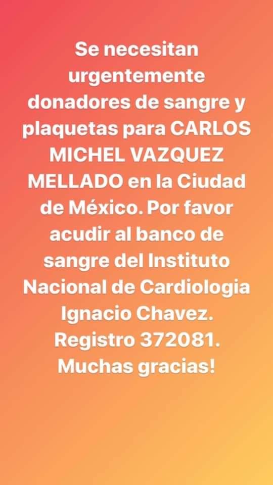 Twitter haz tu magia.... Por fa, quien viva en México ayúdenme a compartir con sus contactos o bien hagan circular la info se que hay gente buena que aún donan altruistamente, hoy es él, mañana podemos ser nosotros https://t.co/HozQjlmIP9