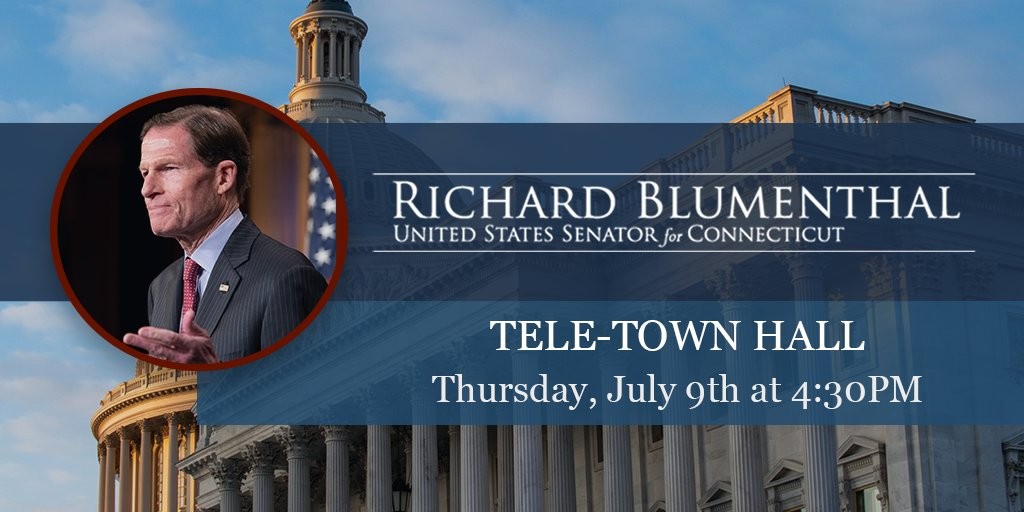 TODAY at 4:30PM, I'm hosting a tele-town hall to answer CT constituents' questions on #COVID19 & other important topics. Looking forward to hearing from you & providing an update on Congress' work. Tune in: https://t.co/h0P6iBy3uG https://t.co/wLKwdNZUhM