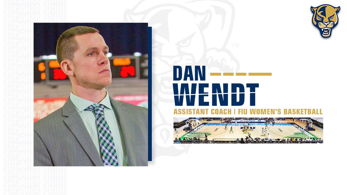 And then there were 3️⃣. Welcome to the Panther family, Coach Wendt! #PawsUp 🐾   #PantherPride