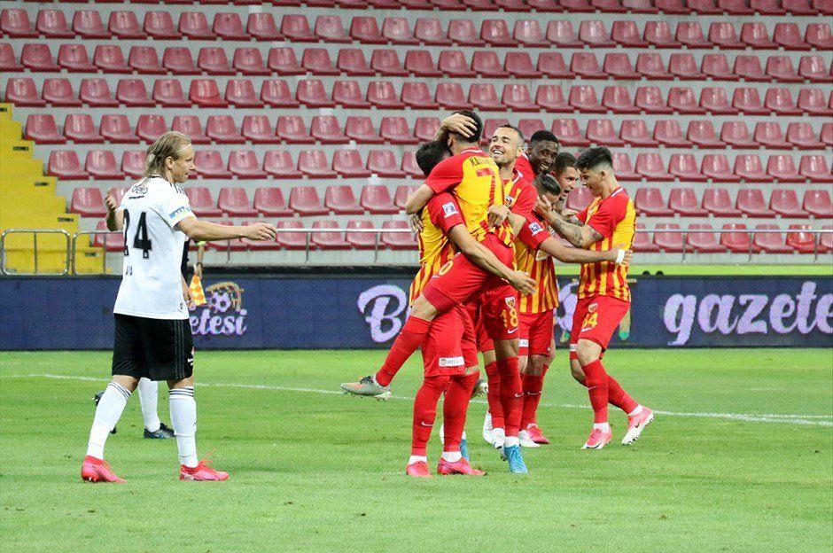 قيصري سبور يمطر شباك بشيكطاش بثلاثة أهداف في الدوري التركي turkpress.co/node/72785
