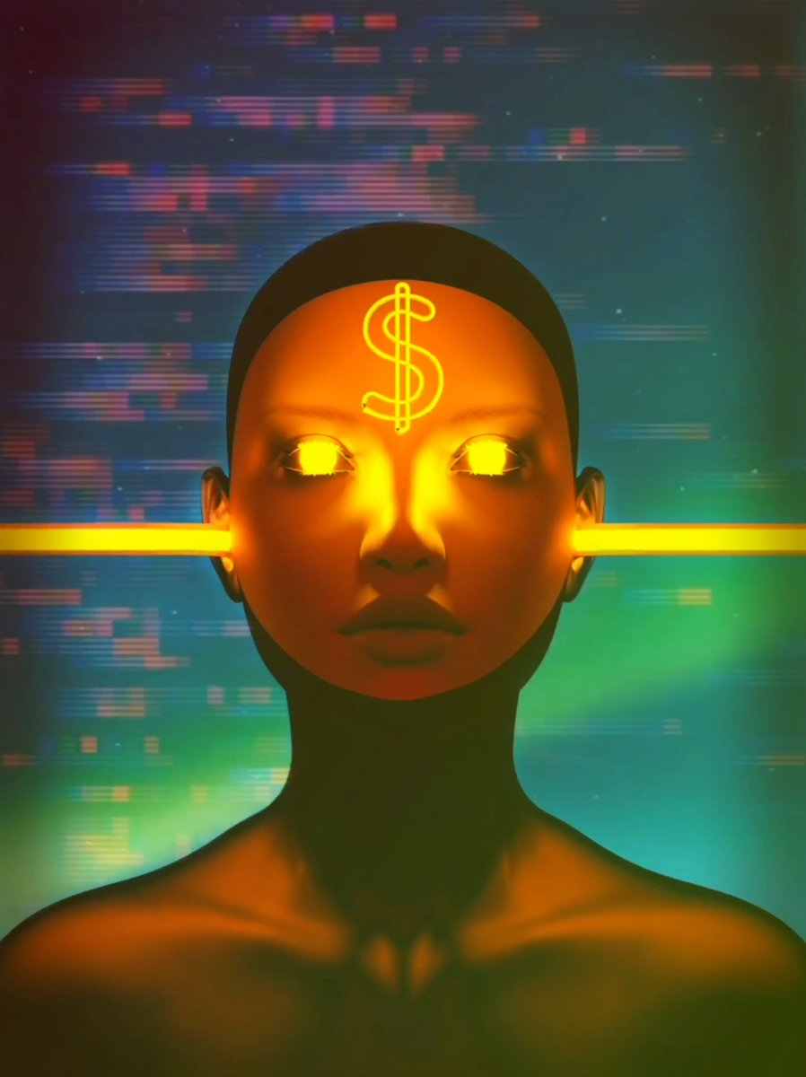 My new release - MONEY FOR NOTHING, an Edition of 1 motion artwork. https://makersplace.com/forlenza/money-for-nothing-1-of-1-28732/… #raredigitalart #digitalart via  @makersplaceco  #digitalartist #CryptoArt #artcollector #makersplaceco #BlockchainArt #surrealism #artvideo #scifiart #NFTart #BlockchainCommunitypic.twitter.com/aG02uyYALp