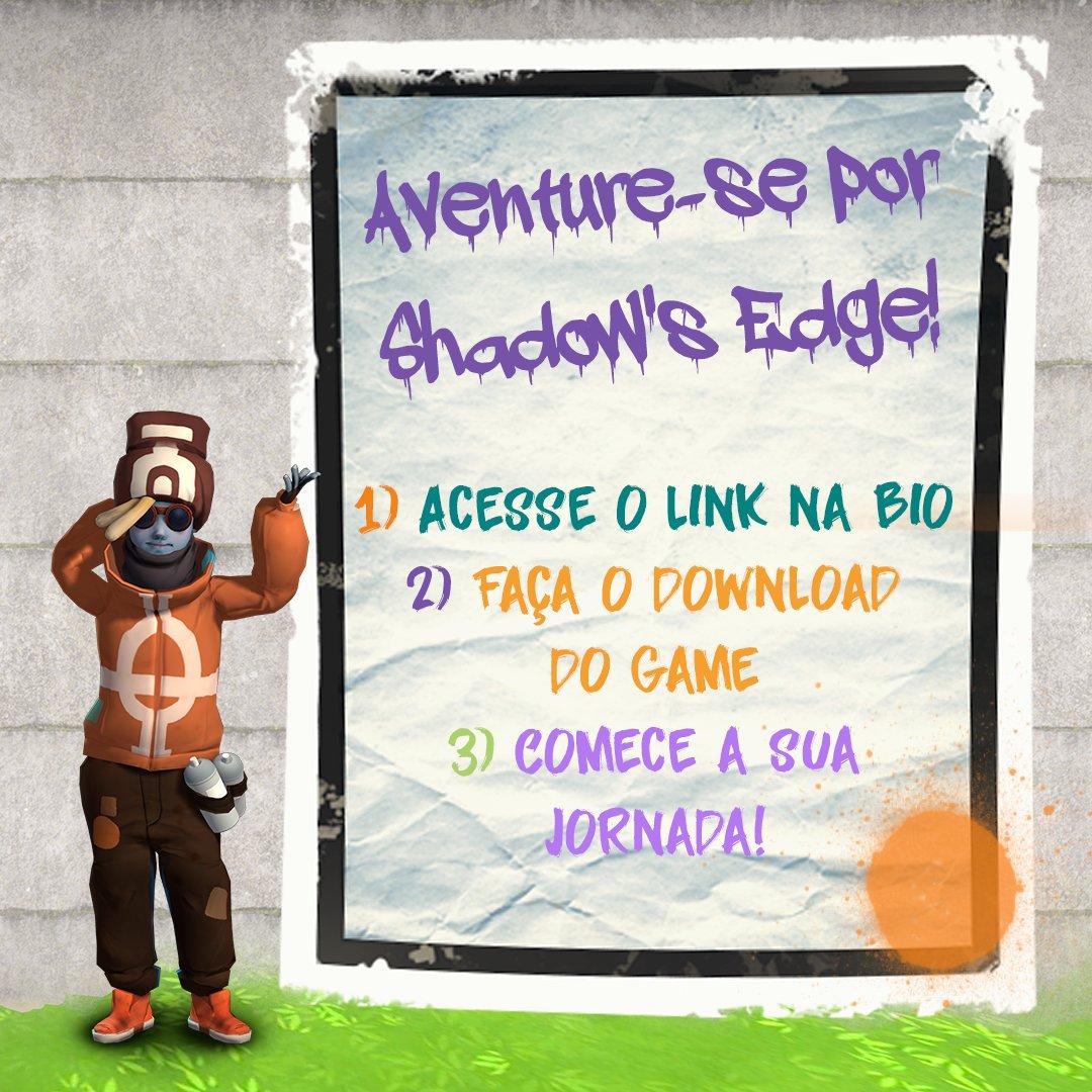 É bem fácil começar a se aventurar por Shadow's Edge! Basta acessar o link na bio, fazer o download gratuito e jogar! Disponível para Android e iOS: https://t.co/36j58Qtj24  #PlayApartTogether #ShadowsEdgeGame #SeriousGame https://t.co/mGJljjs5w5